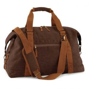 British Army Vintage Canvas Sports Bag