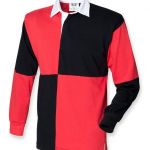 British Army Quartered Long Sleeve Rugby Shirt