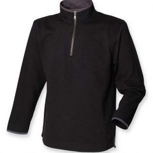 British Army Zip Neck Sweatshirt