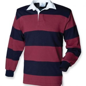 British Army Striped Rugby Shirt