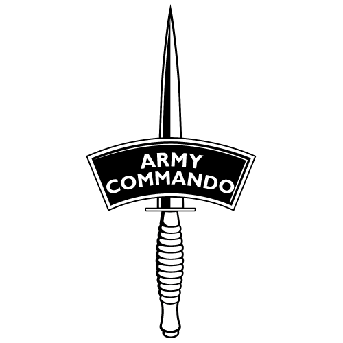 Army Commando – Black